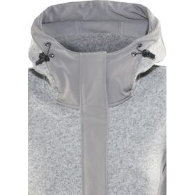 Bergans Flora Hybrid Jakke Damer, solid grey
